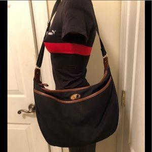 Etienne Aigner black jeans large bag